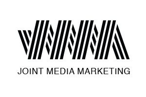 Modern logo design for Joint Media Marketing